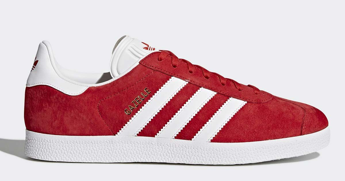 size 40 ee597 705eb Get These Red Adidas Gazelles For Just 50 Shipped While Supplies Last!