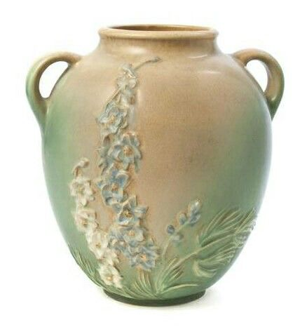 Roseville Pottery Experimental Aapa Larkspur Pottery