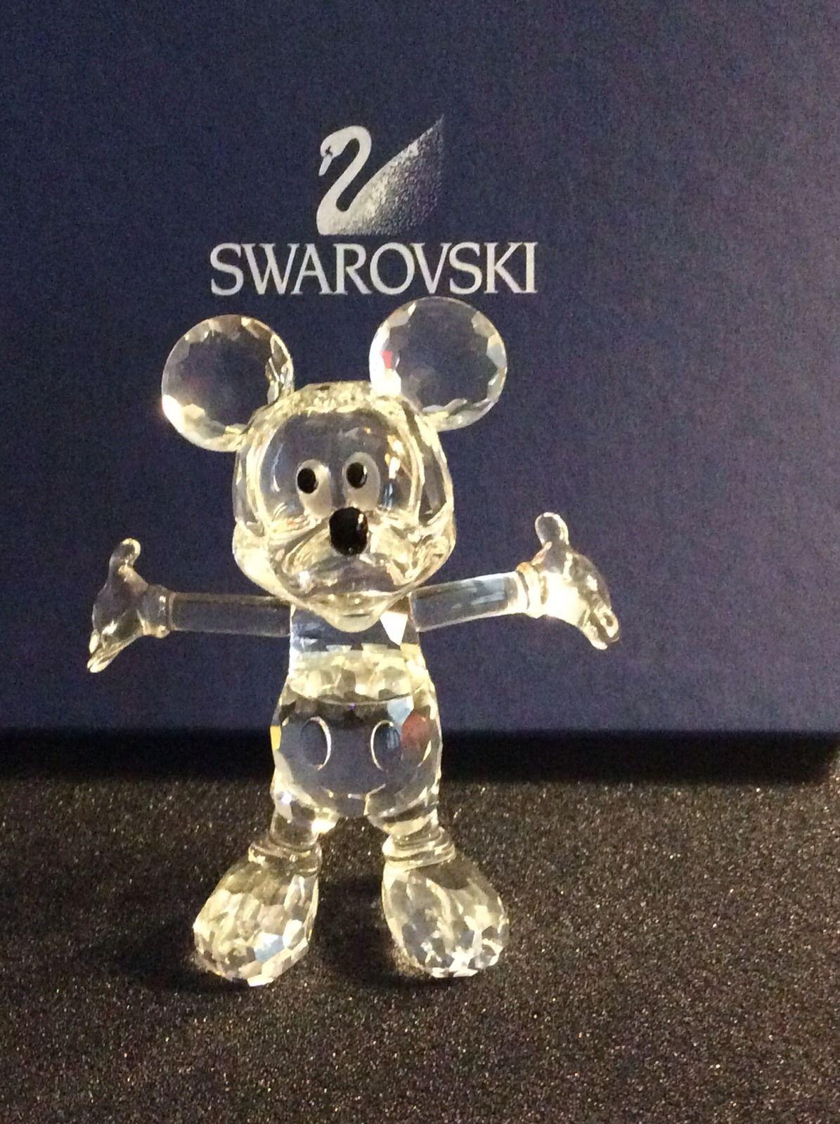 Swarovski Crystal Disney MICKEY MOUSE Figurine | Mickey mouse ...