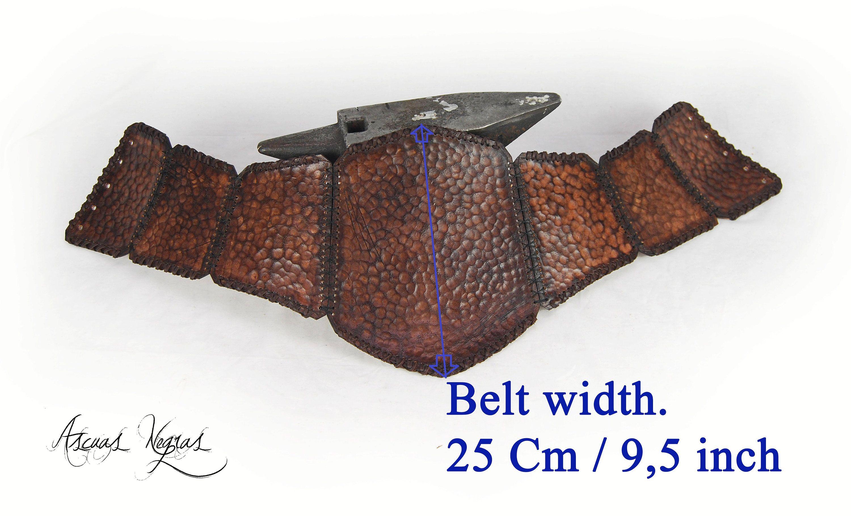 Tribal Corse tribal armor female belt corse ue. viking belt. female armor. larp