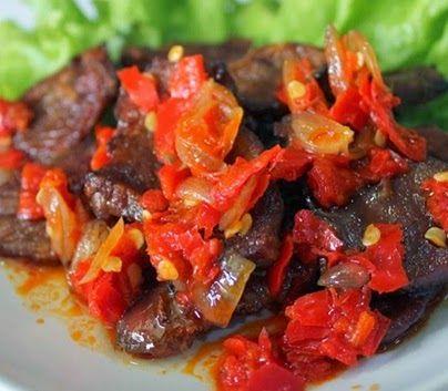 Resep Daging Sapi Balado Spesial Resep Daging Resep Daging Sapi Resep Masakan