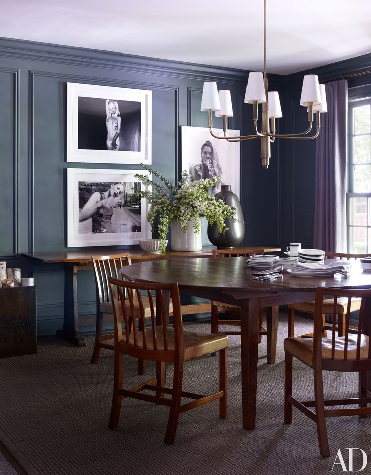 Look Inside Edie Parker Founder Brett Heyman's Connecticut Country Simple Dining Room Sets In Ct Review