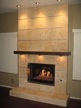 Travertine Fireplace Design Pictures Remodel Decor And Ideas Page 2