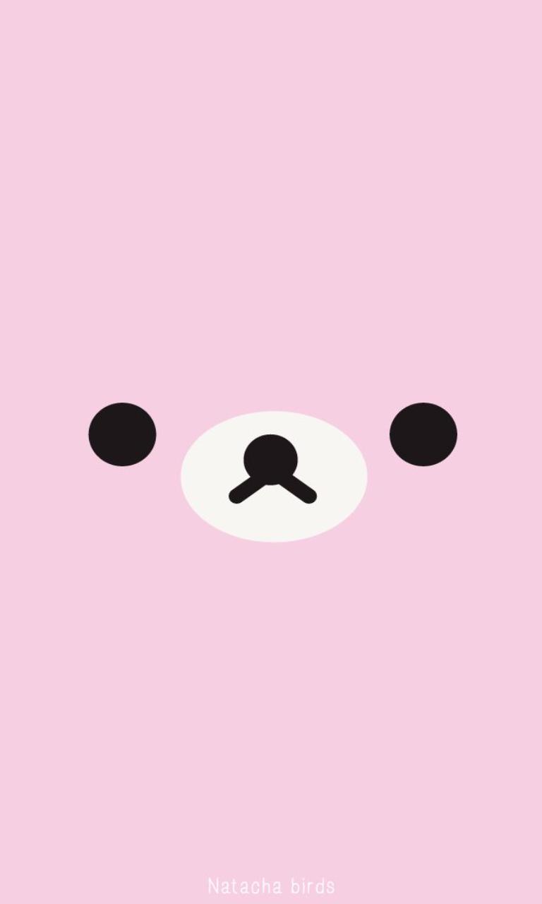 Image result for kawaii faces phone wallpaper in 2019 rilakkuma wallpaper cute mobile - Emoticone kawaii ...