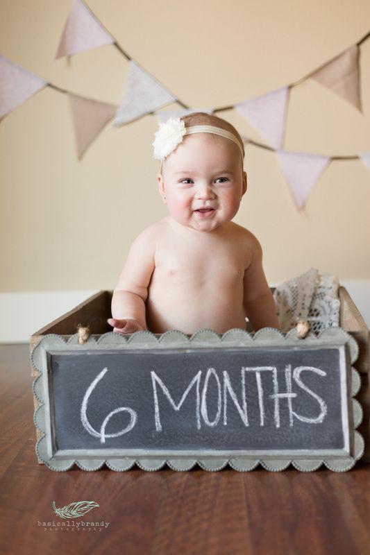 6month Photo Idea Photography Baby Girl Basicallybrandyphotography