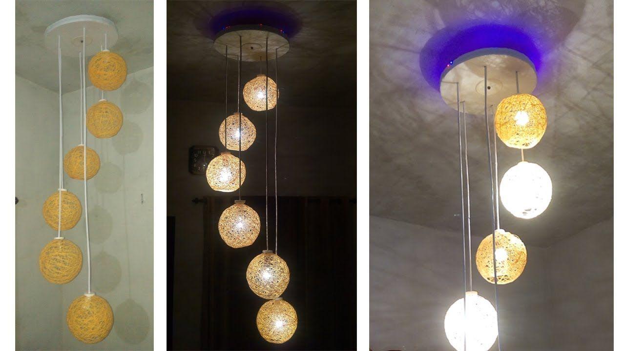 homemade lighting. Make A Homemade Wrapped Balloon Lamp | DIY Easy To Lighting