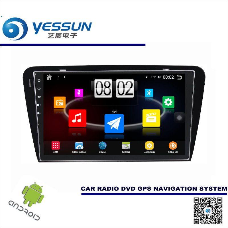 car android player multimedia for skoda octavia mk3 2014~2017 radio