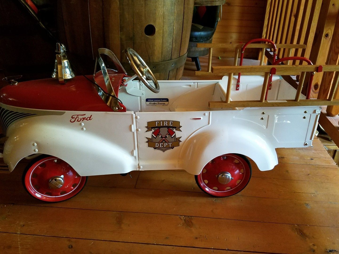 1937 Pedal Car firetruck! For sale  | Pedal Cars | Pedal cars