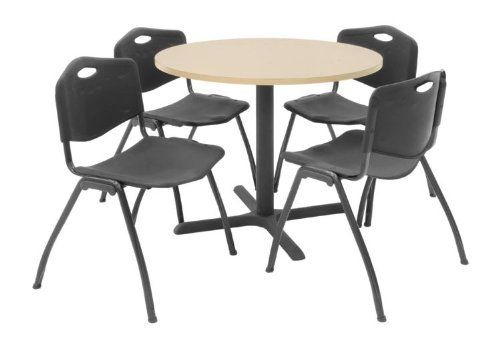 36 Quot Round Table With 4 Chairs By Regency Furniture By