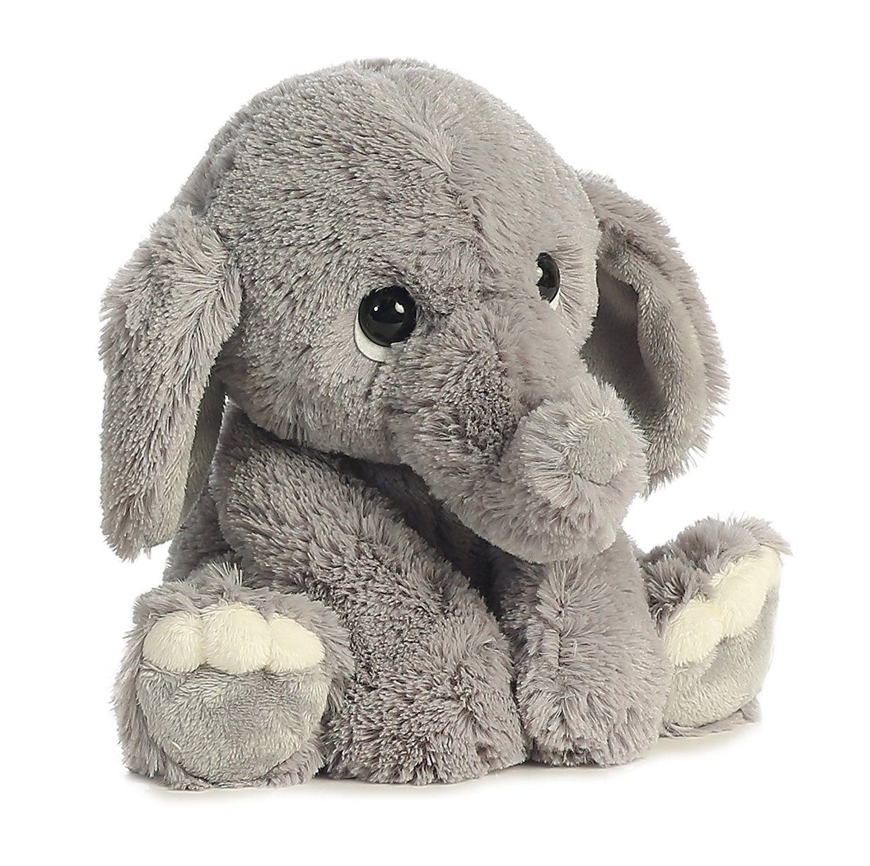 Grey Plush World Lil Benny Phant Teddy Bear Stuffed Animal