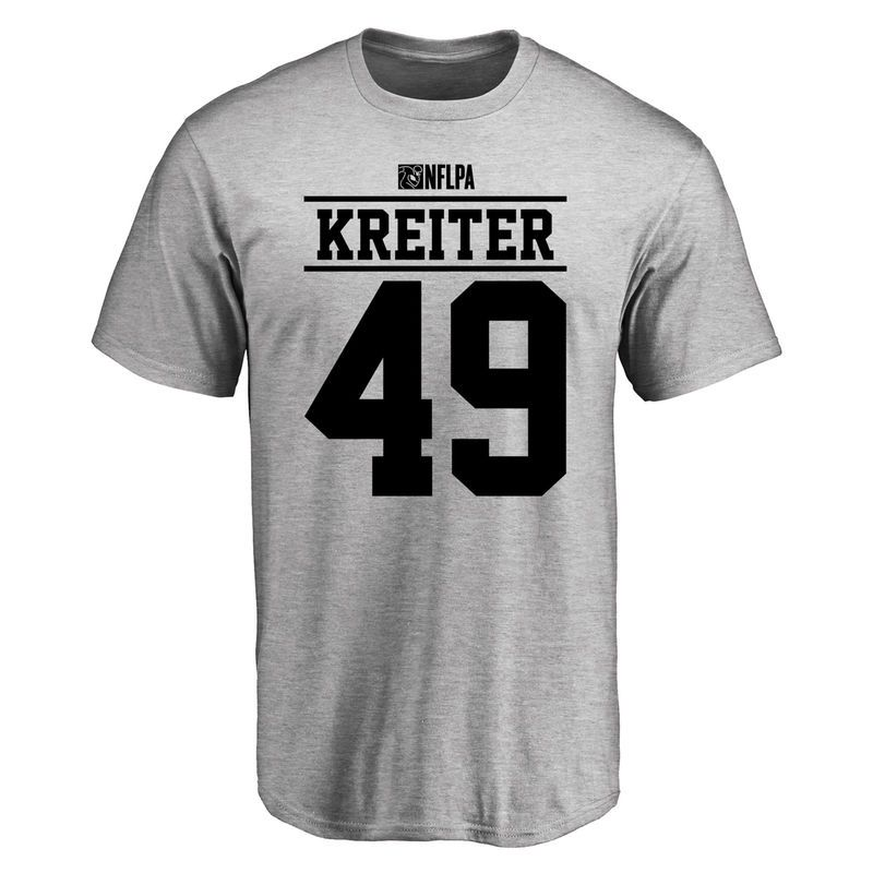reputable site ff1d8 44f65 Casey Kreiter Player Issued T-Shirt - Ash | Products ...