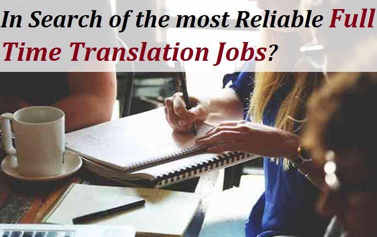 Full time translation jobs in india delhi noida mumbai