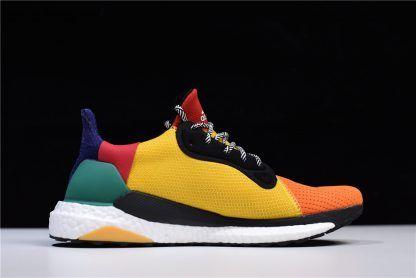 05aefe9c8a3af 2018 Pharrell x adidas Solar Hu Glide ST Multicolor BB8042-1 ...