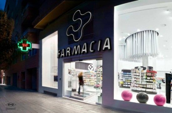 Pharmacy Design Ideas pharmacy by tsoumanis pharmacy design greece agrinio pharmacy office healthcare New Modern Pharmacy Interior Design Conde Lumiares By Mobil M