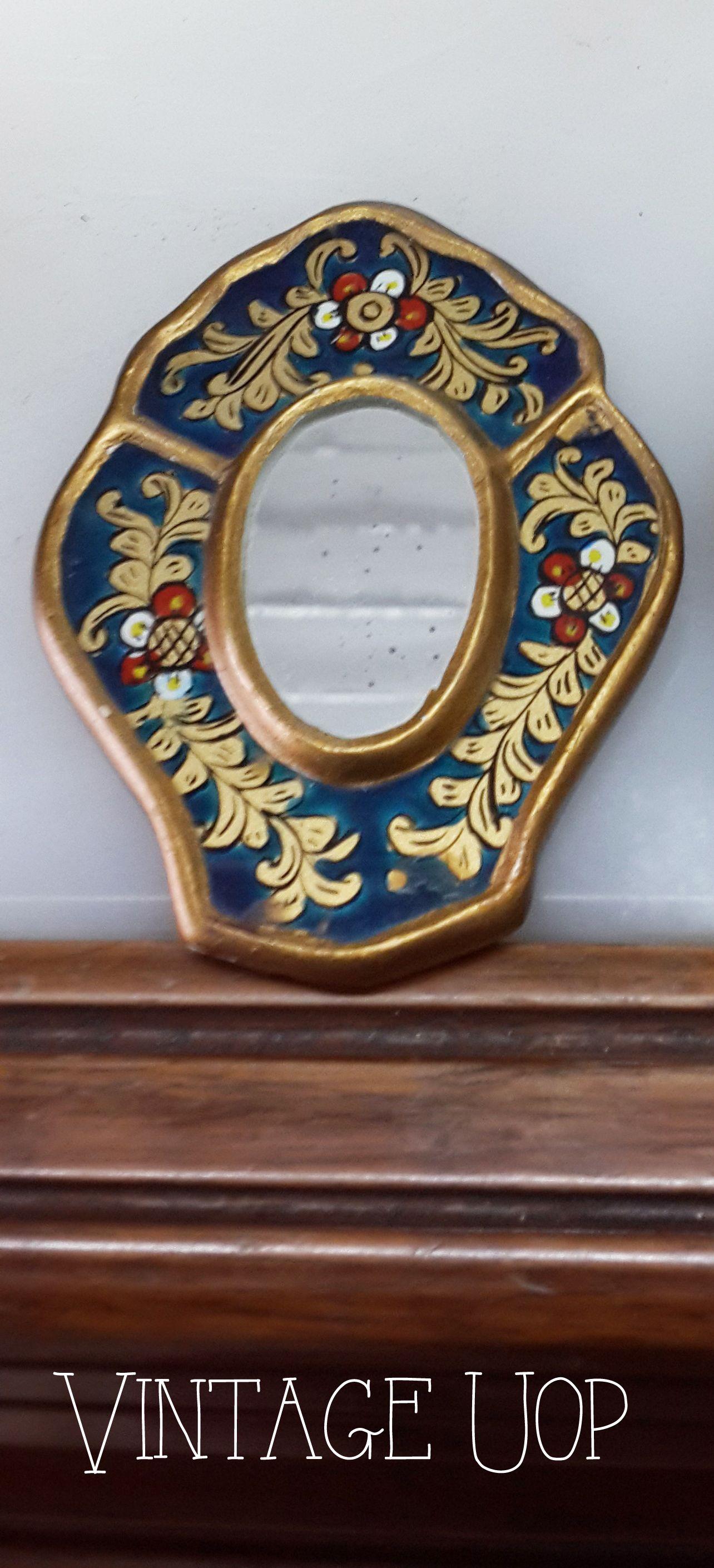 Espejos deco, retro vintage, $70 en http://ofeliafeliz.com.ar