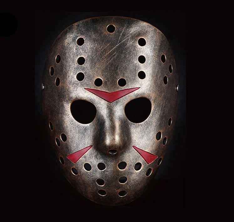 M scara jason voorhees viernes 13 hockey color bronce - Mascara de terror ...