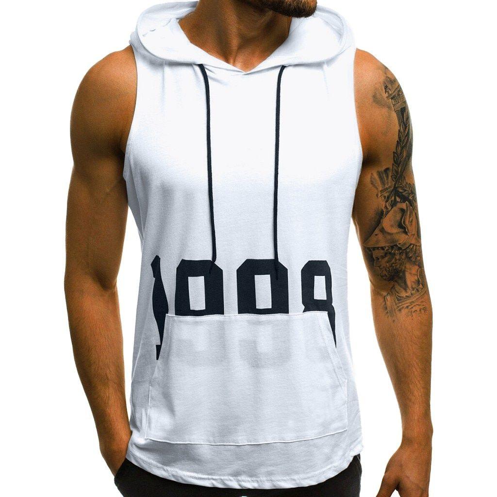 Musculation Wear Hoodie Sweat Veste Pull Capuche Gym Entraînement Veste Capuche