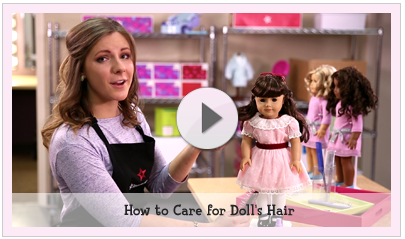 Doll Hair & Care #dollcare