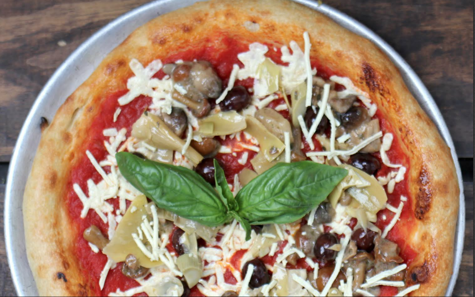 You Can Now Get Vegan Pizza Right Next To Madison Square Garden In Nyc Plant Based Eating Vegan Pizza Food