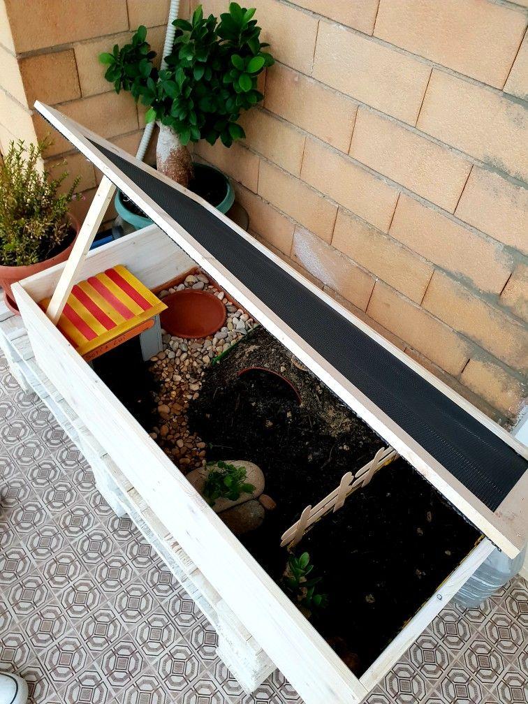 Terrario per tartarughe cucce fai da te recinto per for Recinto elettrico fai da te