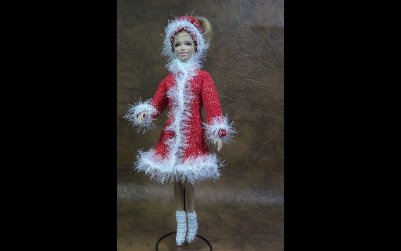 170Пальто для куклы своими руками барби