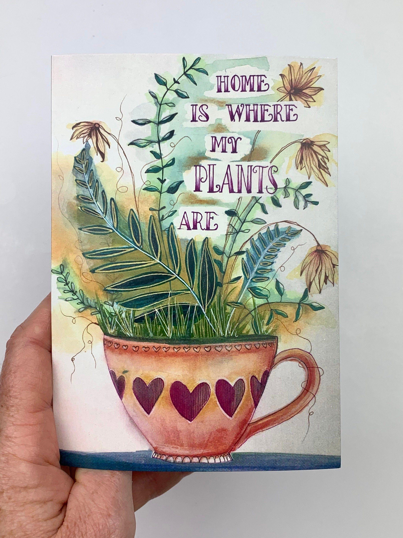 Gift for Yoga Lover Blank Yoga Notecards Greeting Card Set Fun Yoga Cards Yoga Gift