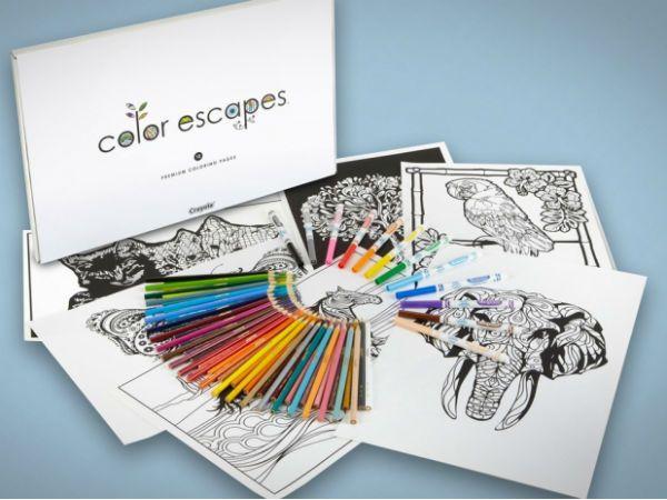 Crayola lanza libros para colorear para adultos | http://www ...