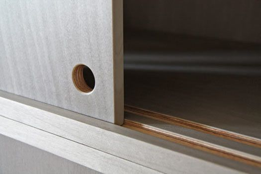 How To Make A Wooden Track For Sliding Door Cabinets