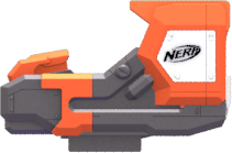 Image is loading NERF-GUN-DEPLOY-CS-6-WITH-LONG-BARREL-
