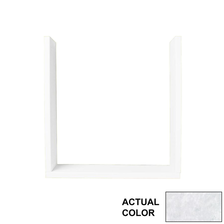 Swan Ice Shower Wall Window Trim Kit Tk03610 130 In 2020 Solid Surface Wall Granite Shower