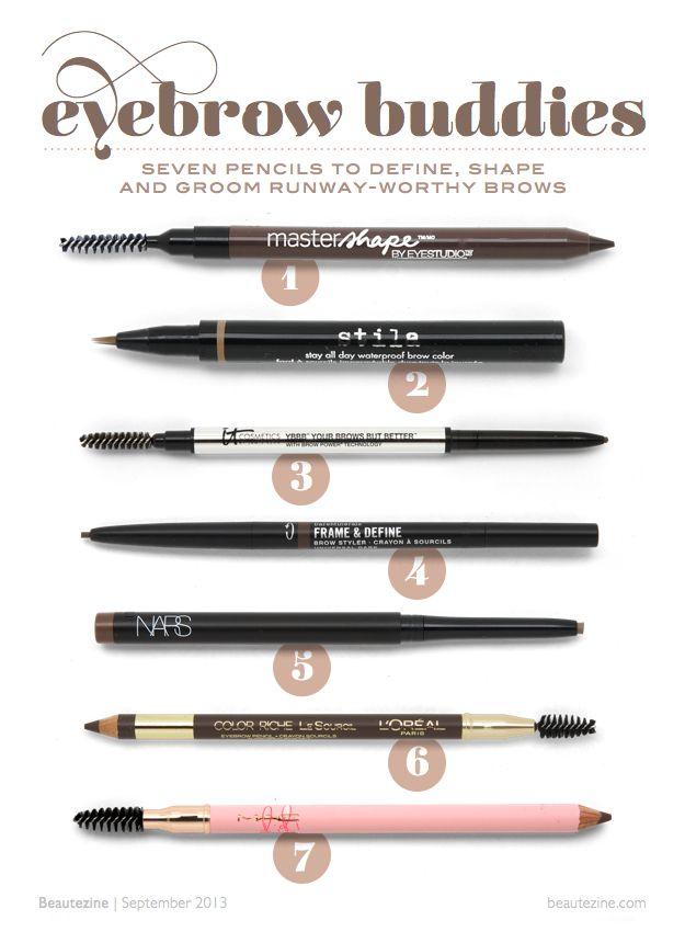 Eyebrow Buddies: 7 Pencils to Define, Shape and Groom Runway ...