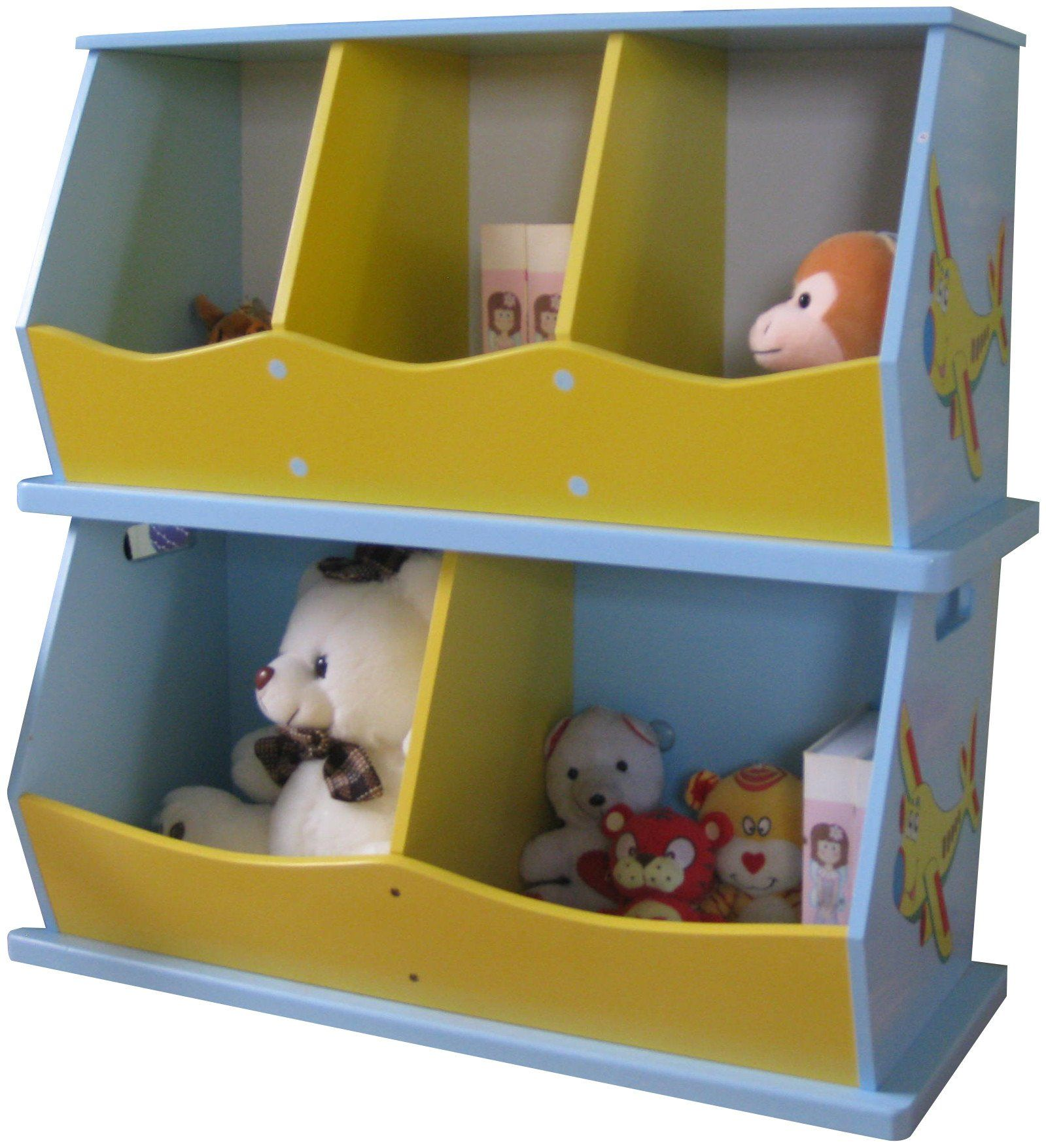 Liberty House Toys u0027Transportu0027 2-Bin Storage Unit £44.99. & Transport 2-Bin Storage Unit - STOCK TBC   Bin storage