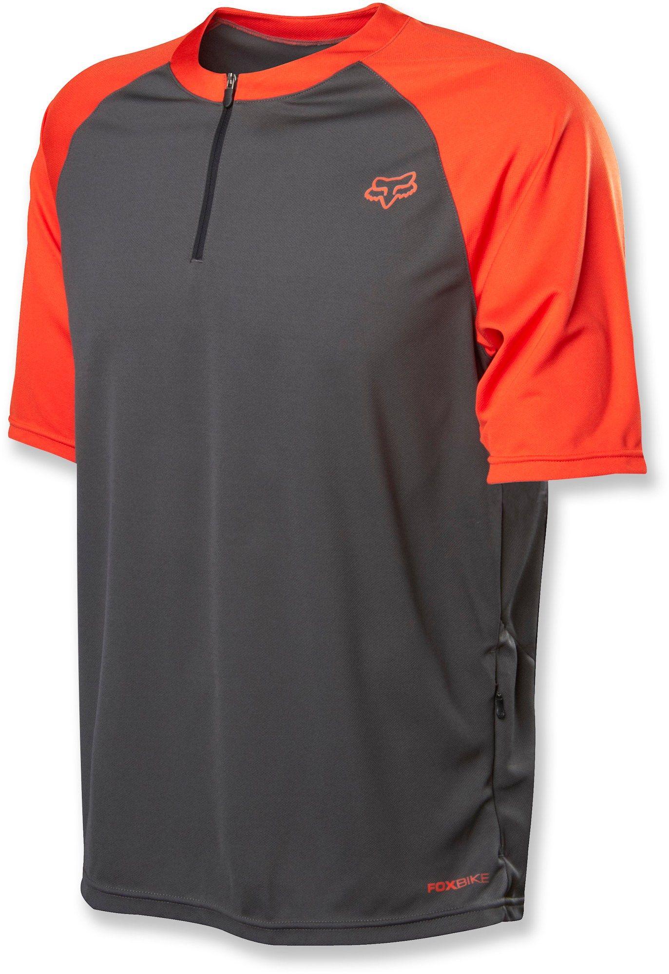 Fox Male Ranger Bike Jersey - Men s - Orange  36f224018