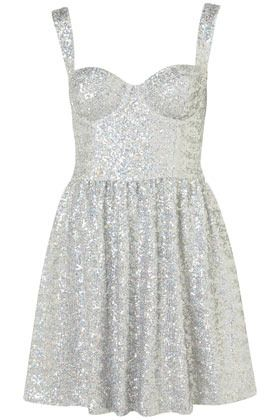 5f5f91839448 No. 2 (Aquatic Trend Pieces). Disco Sequin Prom Dress - Topshop (£80 ...