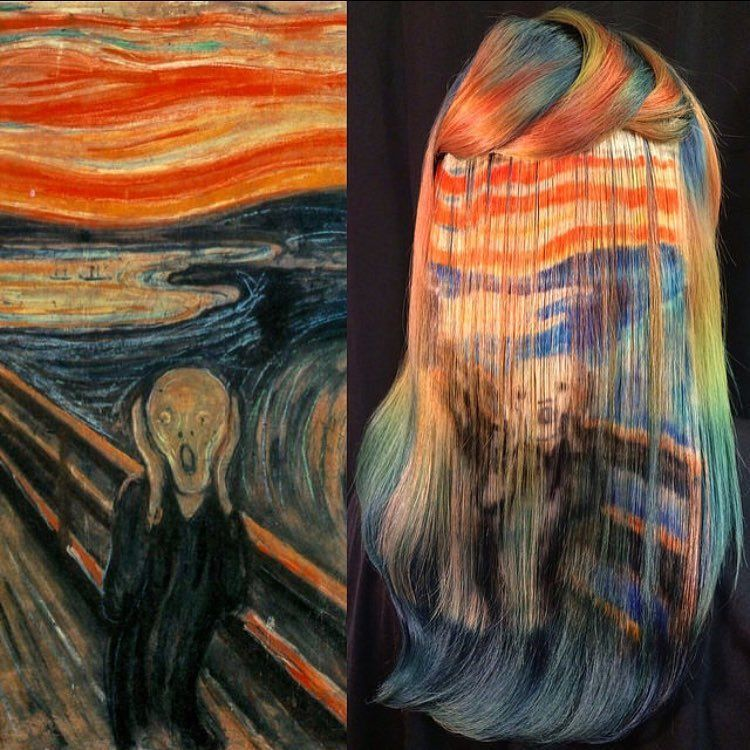 Stylist Showcases Amazing Artistic Skills Using Hair as a Canvas - artistic skills