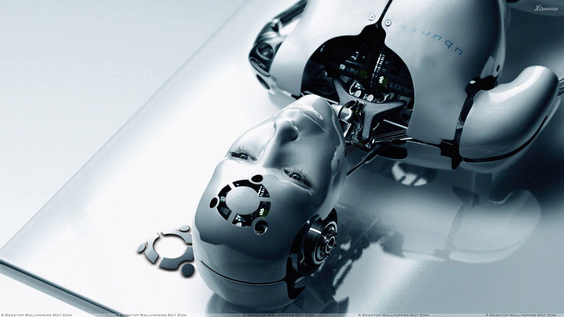 human robot desktop pc and mac wallpaper