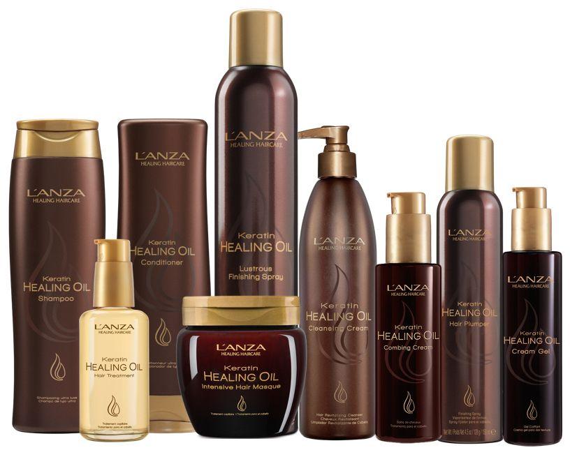 lanza keratin healing oil shampoo and conditioner