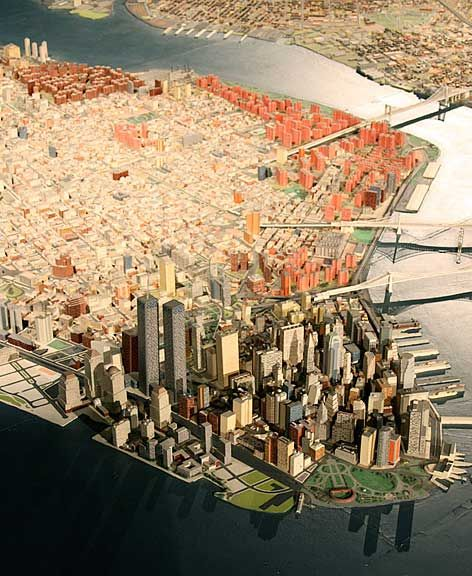 New York City Panorama at Queens Museum of Art.  One of my favorite things in NYC!