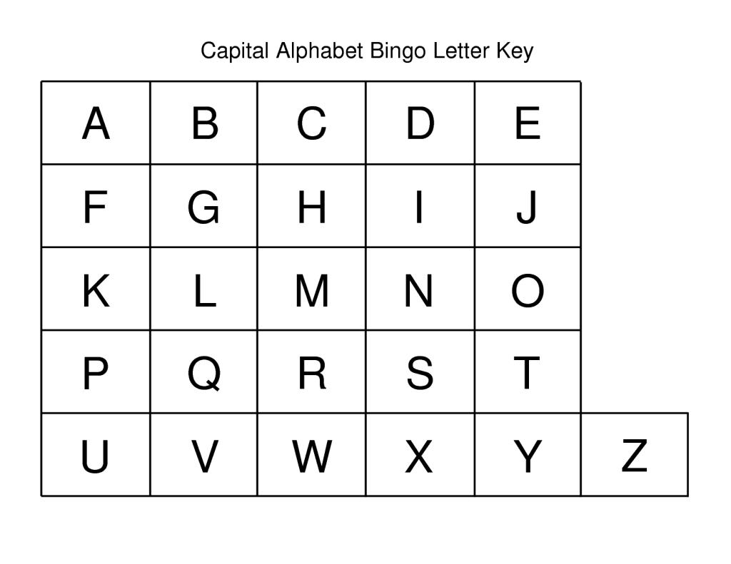Capital Letter Alphabet