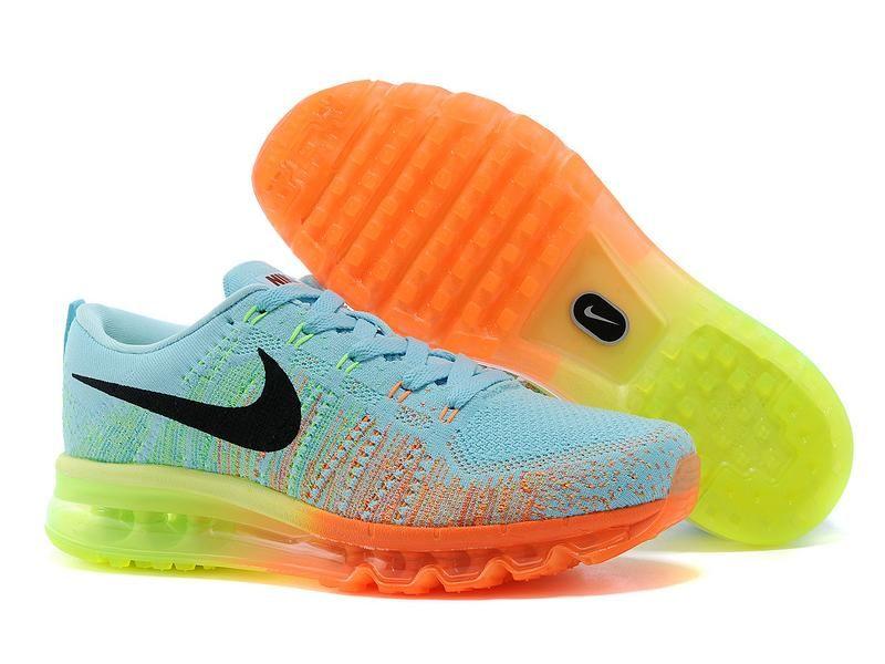 Lightning Shoes Nike Men's Flyknit Max Running Shoes   I'd