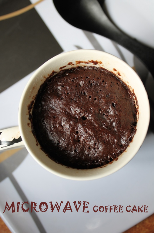 Mug cake recipe coffee