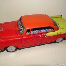 Coche Ford De Hojalata Antiguo Masudaya Modern ToysTin wONn80PkX