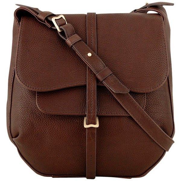 Radley Grosvenor Medium Across Body Handbag Brown 290 Liked On Polyvore Featuring