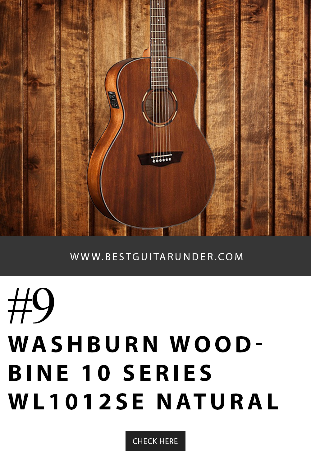 9 Washburn Woodbine 10 Series Wl1012se Acoustic Electric Orchestra Guitar Natural In 2020 Best Acoustic Guitar Acoustic Electric Guitar