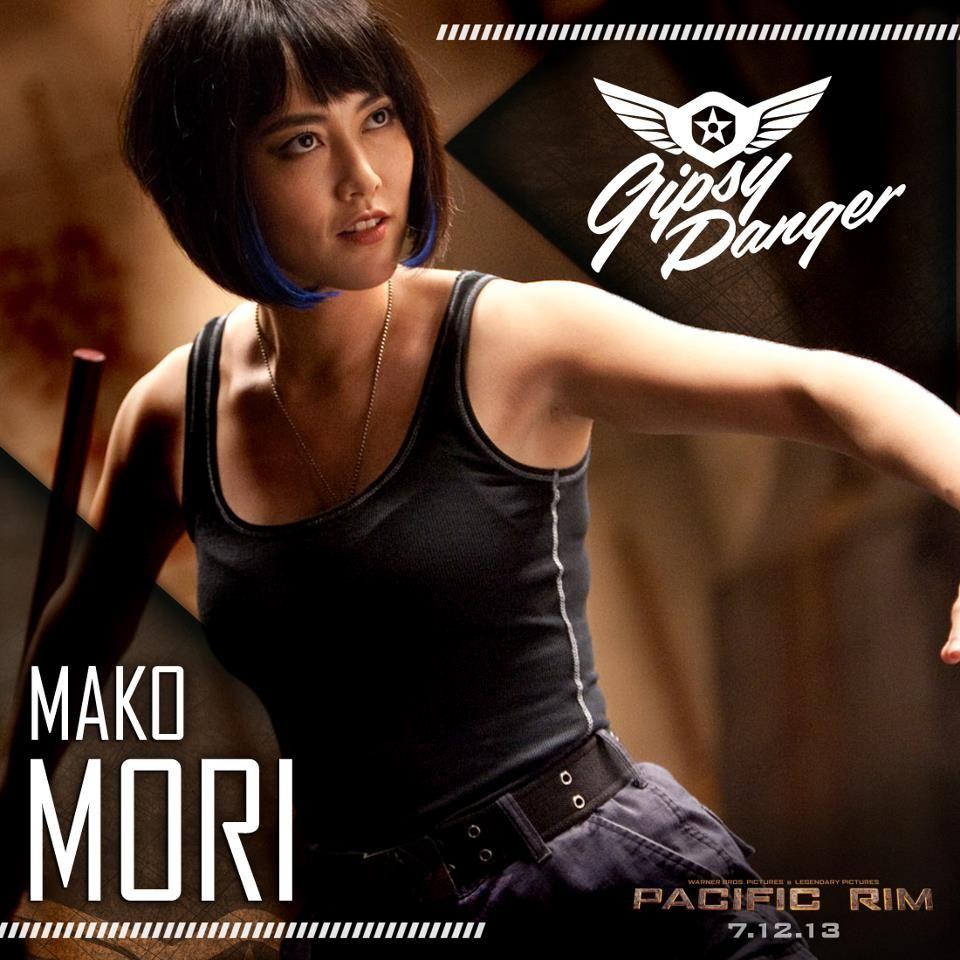 Mako Mori Gallery Pacific Rim Rinko Kikuchi Mako Mori