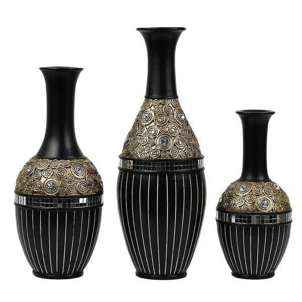 Dlusso Designs Iris Collection Three Vase Set New House Ideas