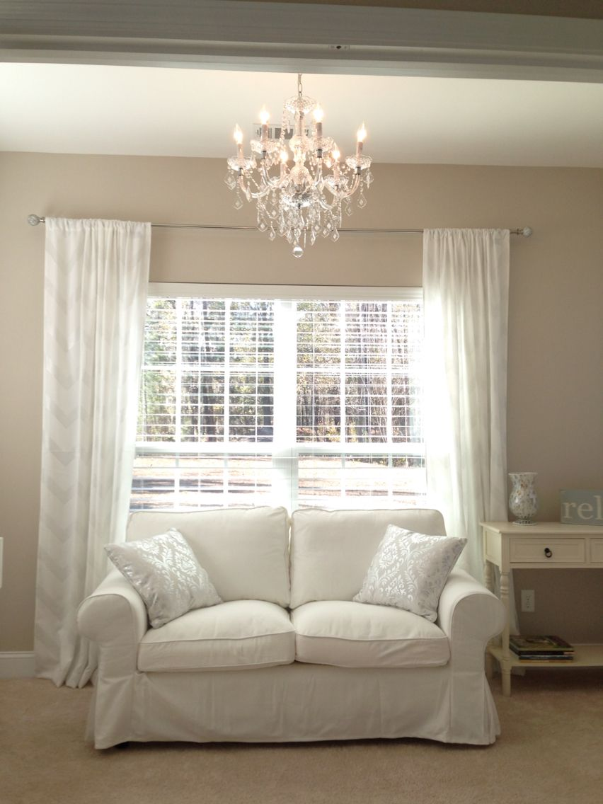 My Sunroom Reveal Love The Ikea Ektorp Loveseat And Maria Teresa