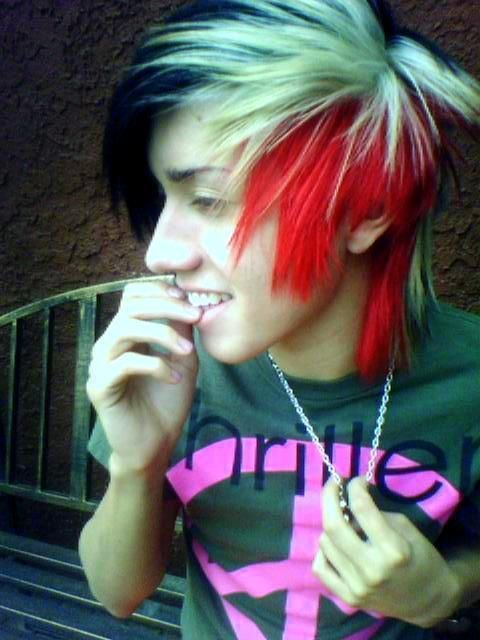 Scene Hairstyles For Guys Hairstyles Info Funky Hair Colors Short Scene Hair Emo Hair