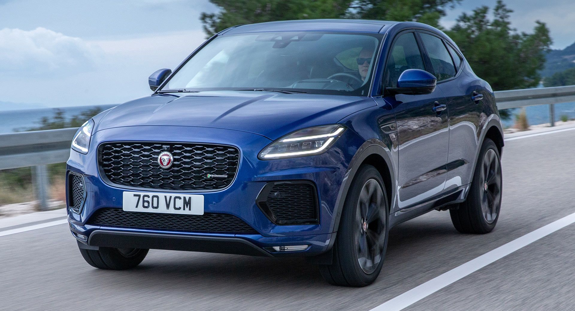 Facelifted 2021 Jaguar E Pace Lands With Tweaked Looks Carscoops Jaguar E Pace New Jaguar Jaguar