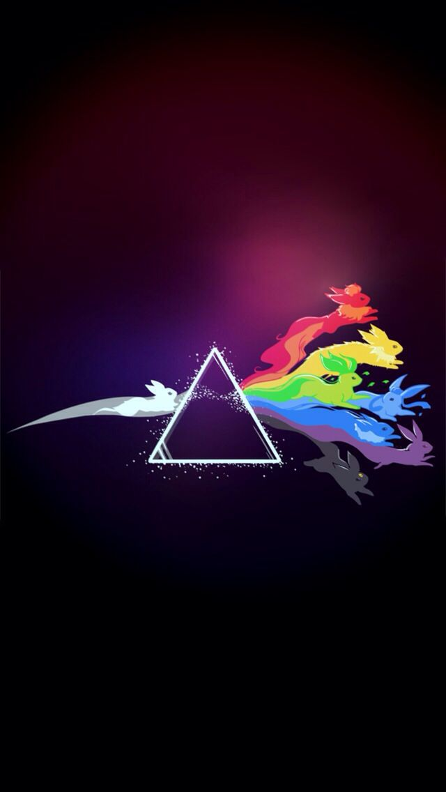 Pink Floyd Pokemon Wallpaper Iphone Eevee Wallpaper Pokemon